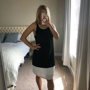 Black and White Business Dress